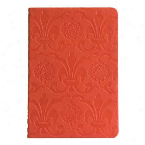 Eccolo Baroqeu Lined Journal - Orange