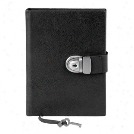 Eccolo Secret Locking Journal - Black