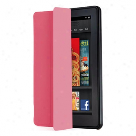 Epicarp Slim Folio Counterbalance For Kindle Fire By Iluv - Pink