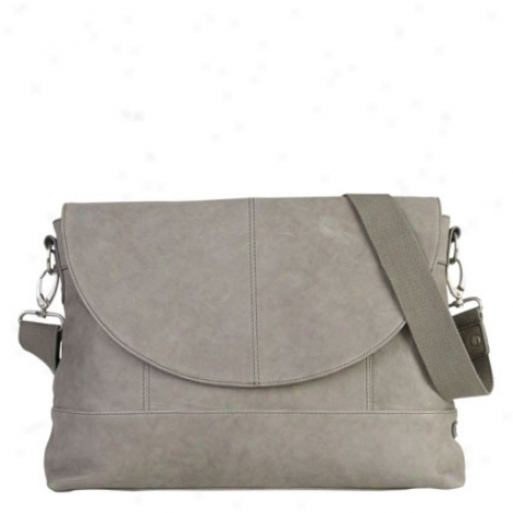 Eva Messenger By Ellington Handbags - Gray