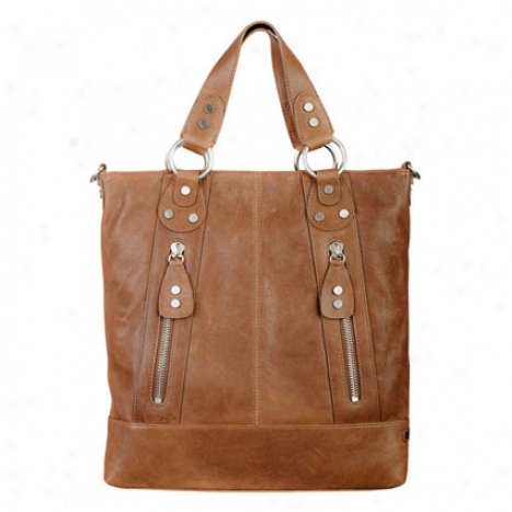 Eva Tote By Ellington Handbags - Cognac
