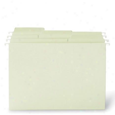 Fastab Moss Hannging Folders, Letter Bigness, Larger Tabs  20