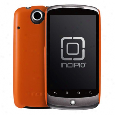 Feather For Google Nexus One By Incipio - Metallic Orange