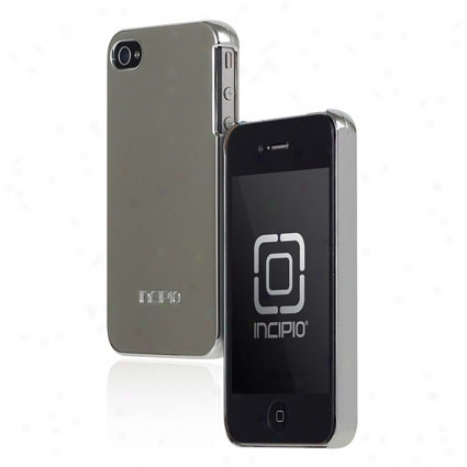 Feather For Iphone 4/s By Incipio - Chrome