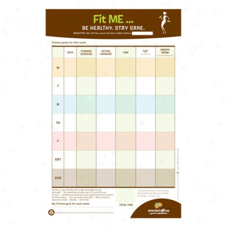 Fit Me Note Pad By Lobotome