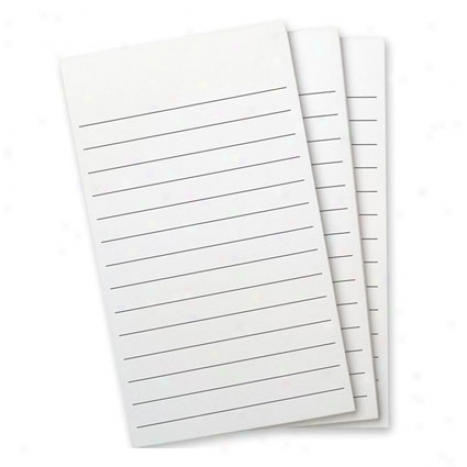 Flip Notes Pad Refill Lined X3 By Wellspring