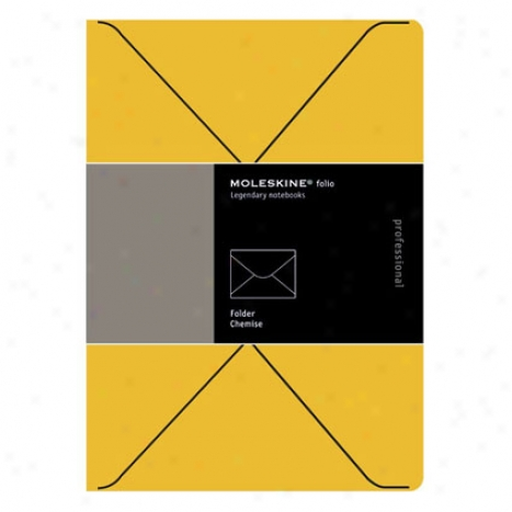 Folio Professional Folders By Moleskine - Orange