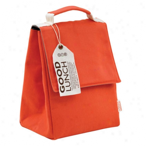 Competent  Lunch Sack By O.r.e. Originals - Rusty Ref