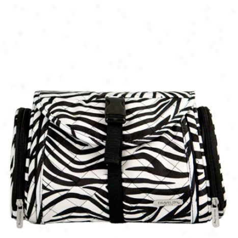 Hanging Toiletry Kit -  Zebra