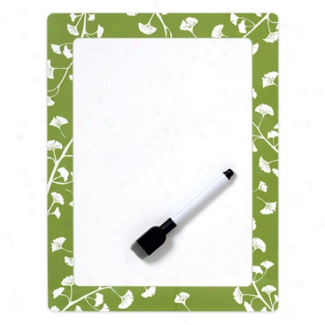 Happeea Whiteboard -  Gingko Leaves Chic By Mayfair Lane