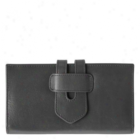 Her Spot Of View Wallet - Black
