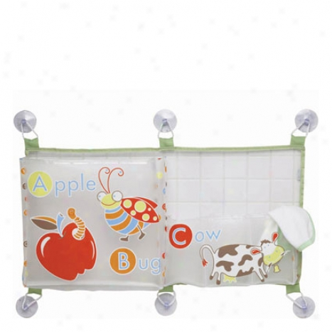Horizontal Bath Tub Toy Bag By O.r.e. Originals - Alphabet