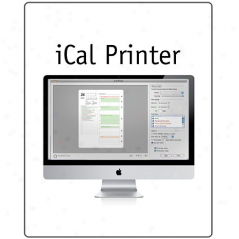 Ical Printer For Mac