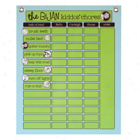 Interactive Chore Chart By Em Tanner - Grommets