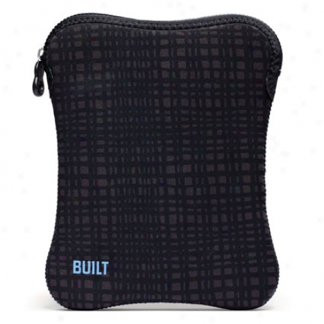 Ipad Sleeve By Built - Graphite Grid