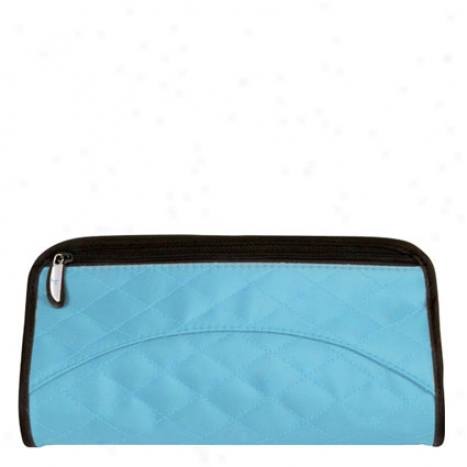 Jewelry And Cosmetic Clutch -  Blue
