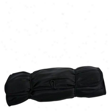 Jewelry Roll - Black Nylon