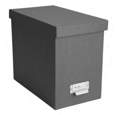John Classic Filebox  By Bigso Box Of Sweden - Dark Gray
