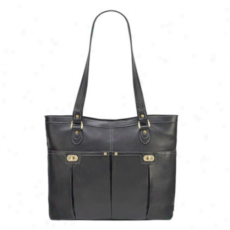 Julia Laptop Bag -  Black