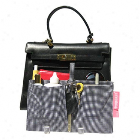 Junior Drop-in Purseket - Black Check