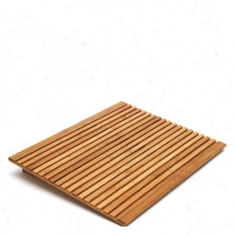 Laptop Computer Tray/holder Slatted By Lipper International - Bamboo