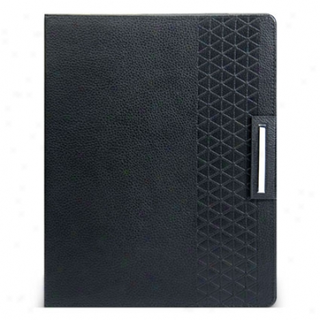 Leatherette Folio Case For Ipad 2 By Iluv