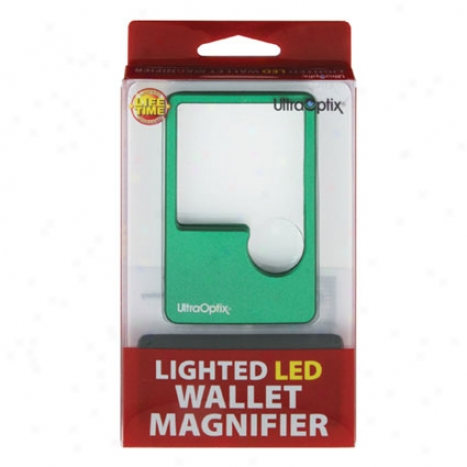 Led Wallet Lens 2x From Ultra Optix - Green