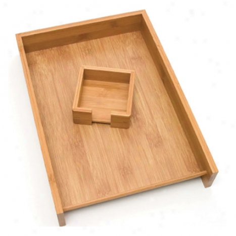 Letter & Billet Tray By Lipper International - Bamboo