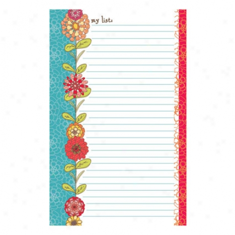 List And Plan Pad - My List Delia By Gina B. Designs
