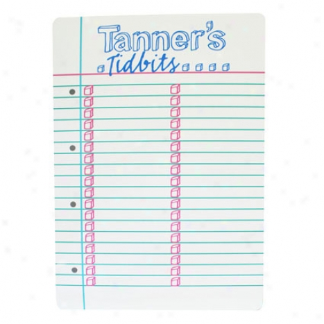 Magnetic Notebook Paper By Em Tanner