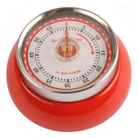 Magnetic Timer - Red