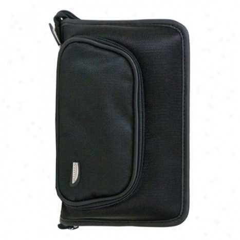 Medications Travel Organizer -  Black Nylon