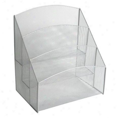 Mseh Desk Pockets By Design Ideas - Silver