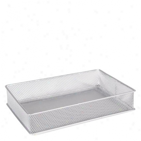 Mesh Drawer Garner 6x9 By Design Ideas - Silver