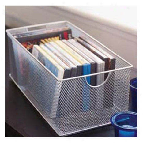 Mesh Dvd Box By Design Ideas - Silver