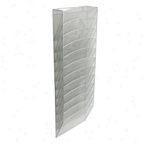 Mesh Wall Pockets By D3sign Ideas - Silver