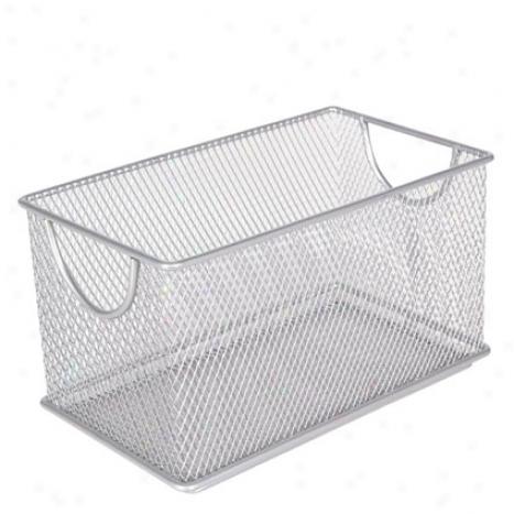 Mesh Zipbox Bg Design Ideas - Silver