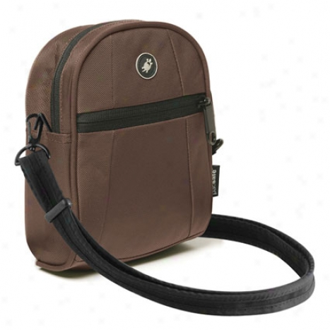 Metrosafe 100 Hip & Shoulder Bag By Pacsafe - Ddep Chocolate