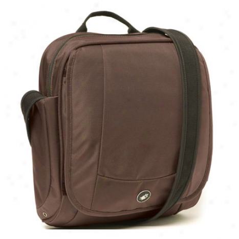 Metrosafe 200 Shoulder Bag By Pacsafe - Deep Chocolate