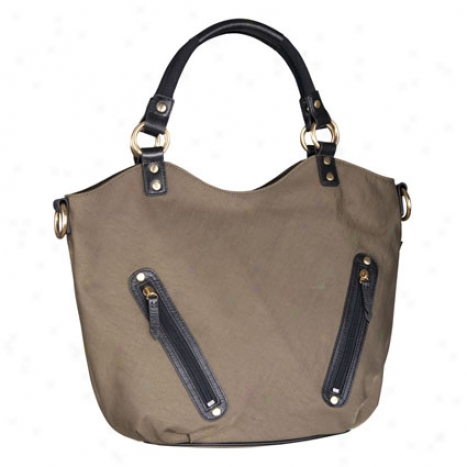 Mia Tote By Ellington Handbags - Olive