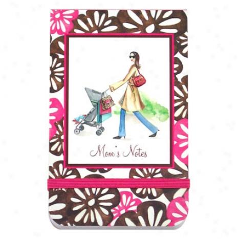 Mini Bon Bon Notepad Through  Bonnie Marcus - Mom's Notes