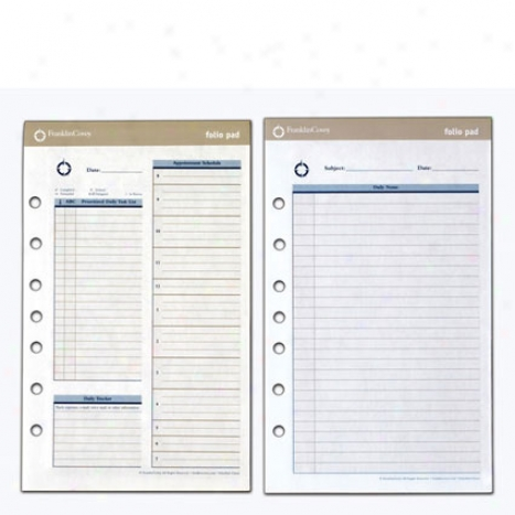 Monarch Foliopad Two-page-per-day Refill - 2 Pack
