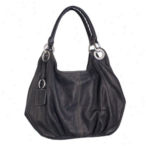 Nicole Hobo By Ellington Handbags - Black