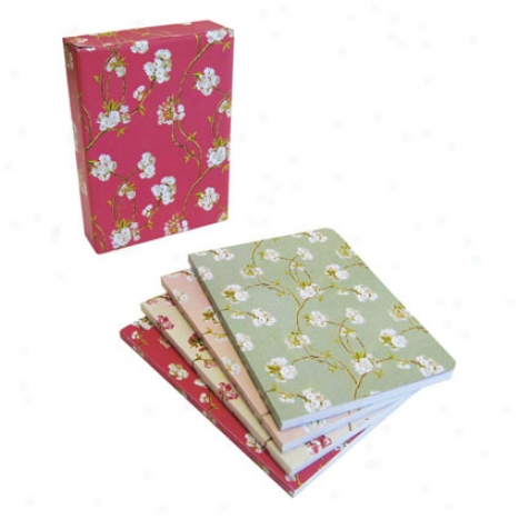 Nina Campbell Notebooks (4-pack) By Ryland, Peters, & Small