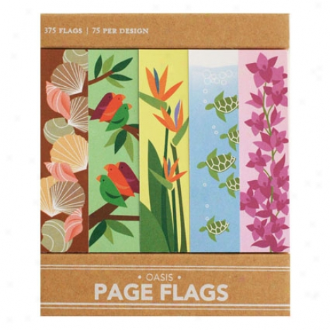 Oasis Page Flags By Girl Of All Work