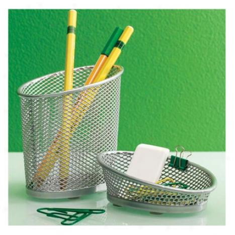 Opus Pencil Cup B Design Ideeas - Silver