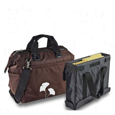 Overnight Tote By Autoexec - Brown