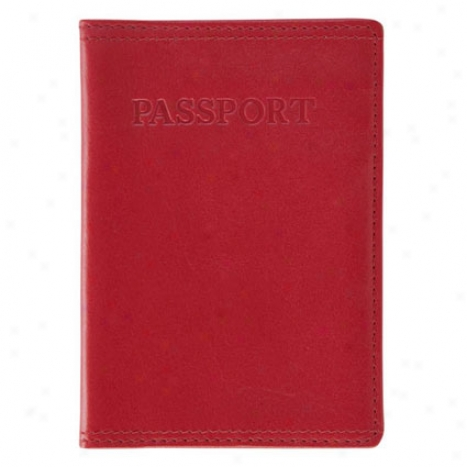 Passport Case - Red