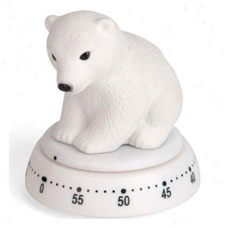 Polar Bear Kitchen Timer By Kikkerlamd