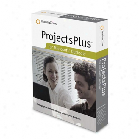 Projectsplus For Microsoft Outlook - Boxed Full Version